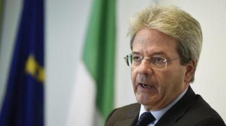 وزير الخارجية الإيطالي باولو جنتيلوني