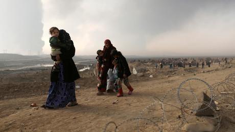 نازحون جنوب الموصل