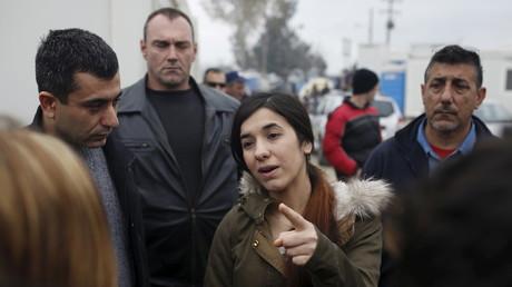 الإيزيدية العراقية ناديا مراد