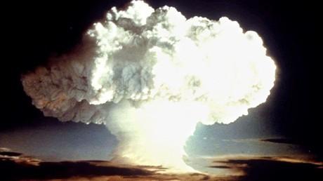 تفجير نووي أمريكي في عام 1954