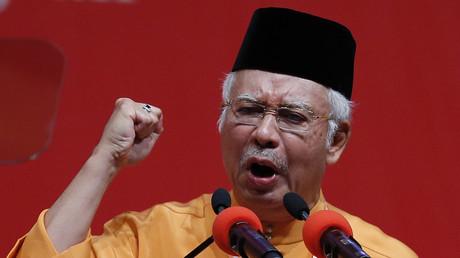 رئيس الوزراء الماليزي نجيب عبد الرزاق
