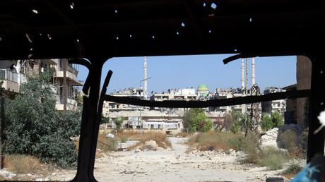 أحد احياء حلب