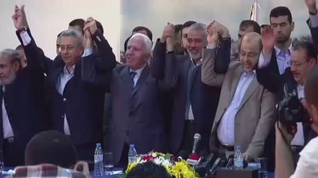 حدود التفاؤل في لقاء عباس و مشعل