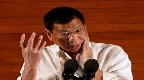 رئيس الفلبين، رودريغو دوتيرتي (صورة أرشيفية)