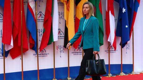 وزيرة خارجية الاتحاد الاوروبي فيديريكا موغيريني