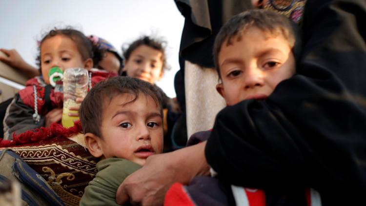 600 ألف طفل عالقون في الموصل