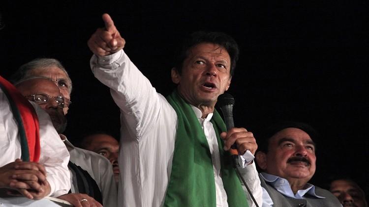 خان يتراجع عن تهديده بالتظاهر وإغلاق إسلام آباد