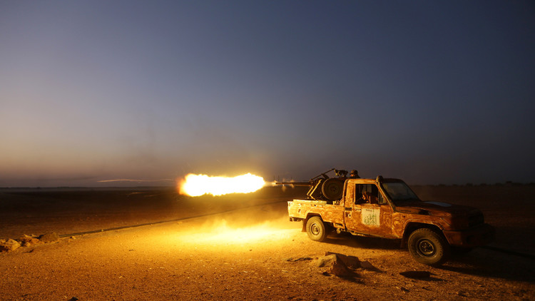 المسلحون يهجمون على منيان في ريف حلب الغربي
