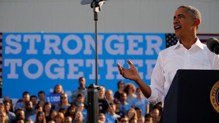 أوباما: ترامب خطر علينا وعلى العالم