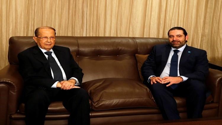 عون يكلف الحريري بتشكيل الحكومة