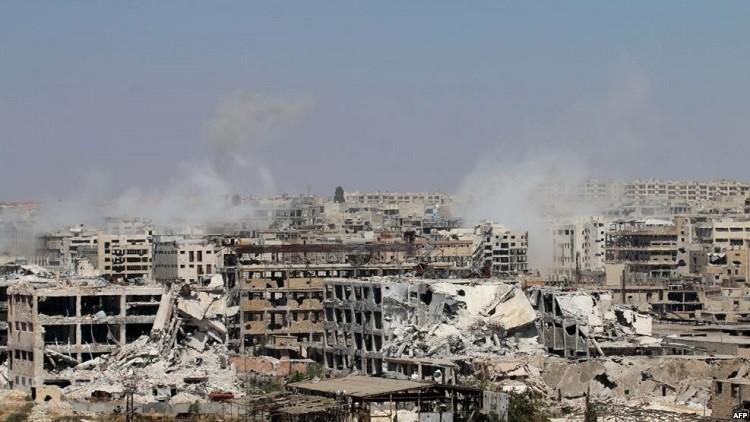 المسلحون السوريون نظموا هجومهم الأكبر على مدى العامين الماضيين