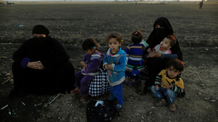 اليونيسيف: نزوح حوالي 10 آلاف طفل منذ بدء عملية تحرير الموصل