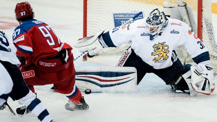 روسيا تكتسح فنلندا على جليدها