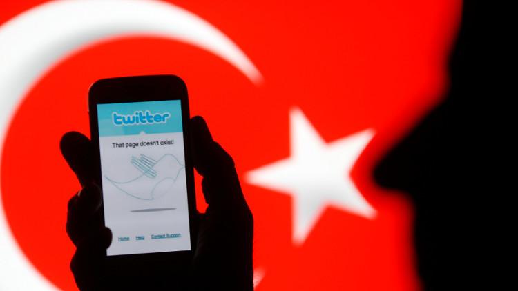 حجب مواقع التواصل الاجتماعي في تركيا