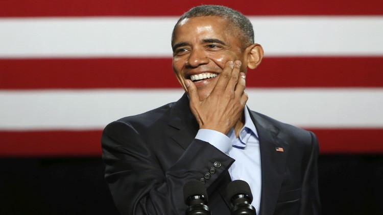 ترامب يصف أوباما بالراقصة التي تشجع فريقا رياضيا