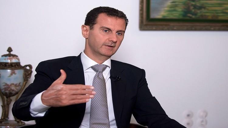الأسد: لن اتنحى قبل انتهاء فترة ولايتي عام 2021