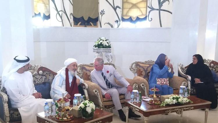 الأمير تشارلز يلتقي رئيس منتدى تعزيز السلم في المجتمعات المسلمة