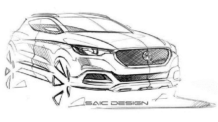 ماركة MG البريطانية تعد للعرض سيارة كروس جديدة
