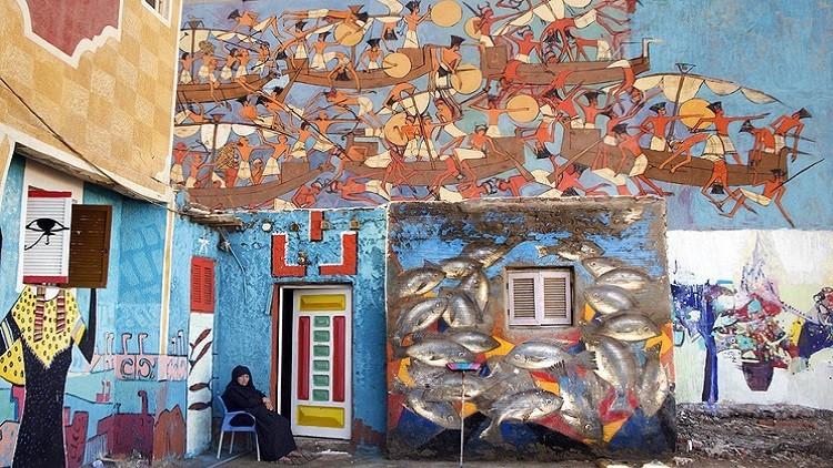 مدينة مصرية تتحول إلى قِبلة عالمية لهواة فنون الشارع