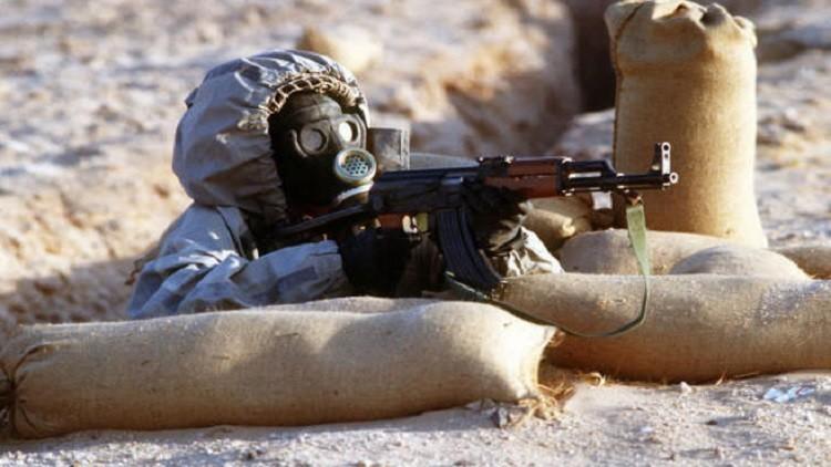 الولايات المتحدة تجهز القوات تحسبا للهجمات الكيميائية في الموصل