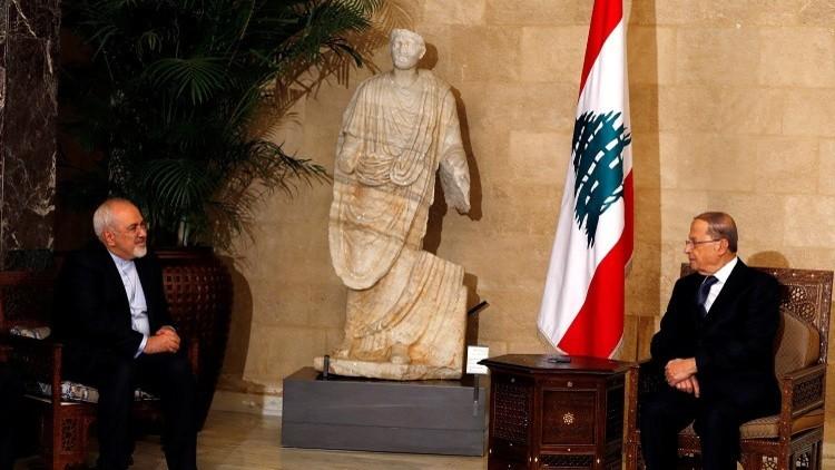 ظريف من لبنان: إسرائيل والإرهاب يتربصان بطهران وبيروت