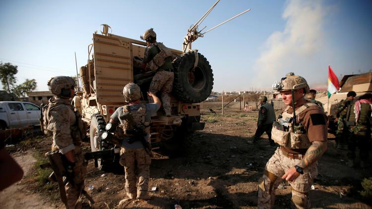 مصدر دبلوماسي عسكري  يكشف عن خسائر الولايات المتحدة في معركة الموصل
