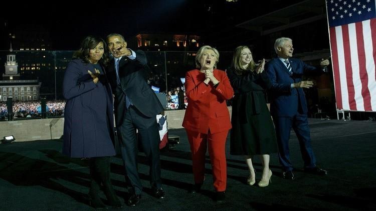 أوباما للأمريكيين: تخلوا عن الخوف وصوتوا لكلينتون