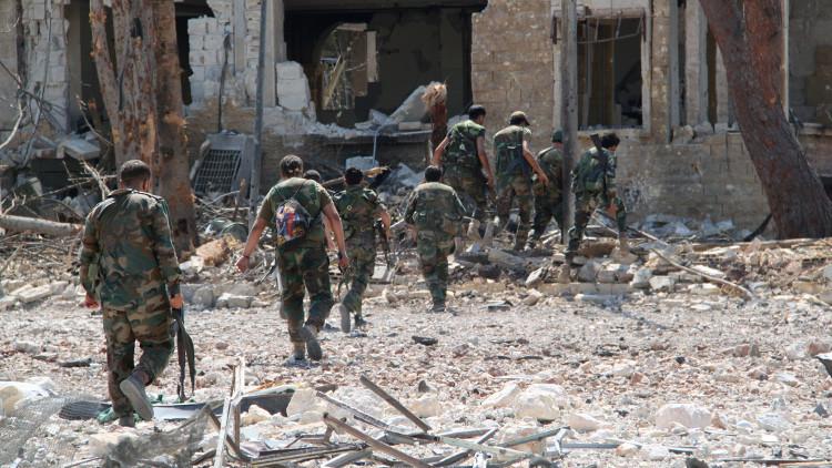 الجيش السوري يسيطر على مشروع 1070 شقة بحلب