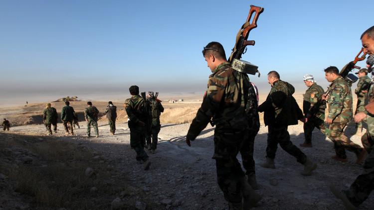 القوات العراقية تطهر المناطق المحررة من