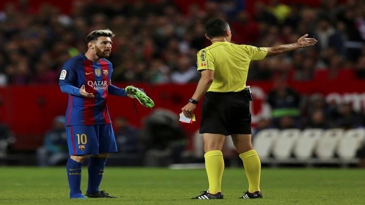 برشلونة يطعن ضد إنذار ميسي