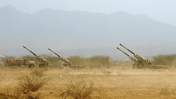 قصف صاروخي من اليمن  يخلف 5 جرحى بمنطقة جيزان جنوب السعودية