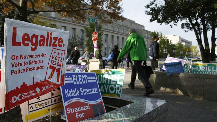 تزامنا مع انتخابات الرئاسة.. أمريكيون يصوتون لشرعنة تناول