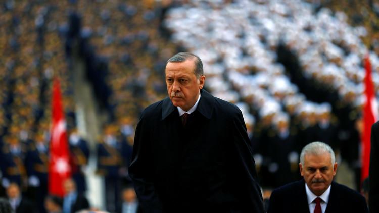 أردوغان يكشف عن حدود تركيا الروحية!