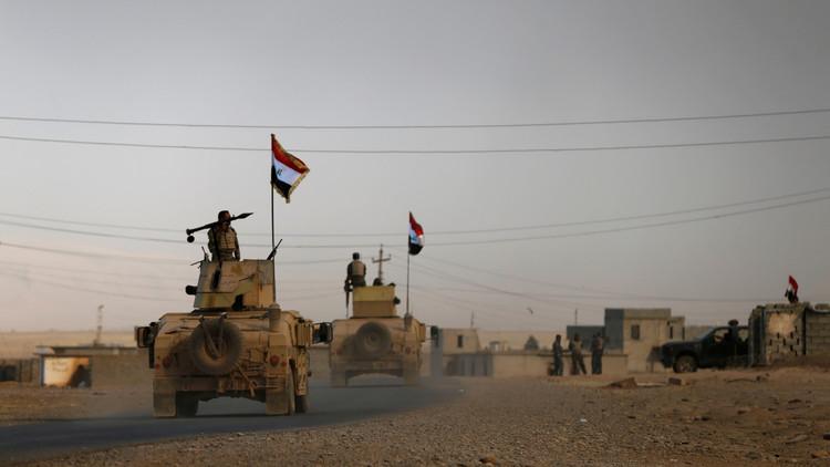 القوات العراقية تتقدم باتجاه آثار نمرود جنوب الموصل