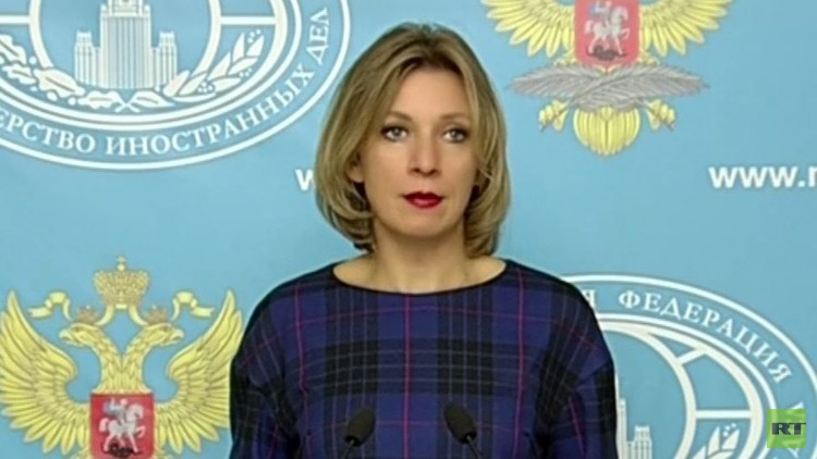 زاخاروفا: من السابق لأوانه الحديث عن تحسن العلاقات الروسية الأمريكية