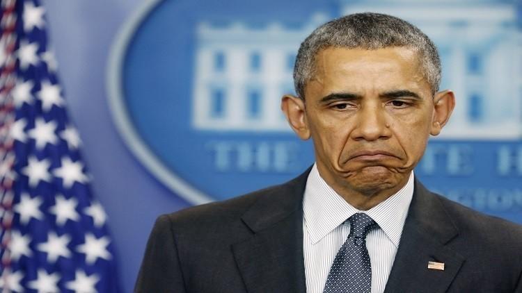 أوباما يرفض التقاط صورة مع ترامب