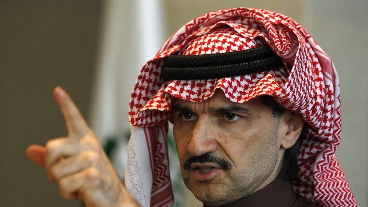 الوليد بن طلال يتأهب للقاء ترامب