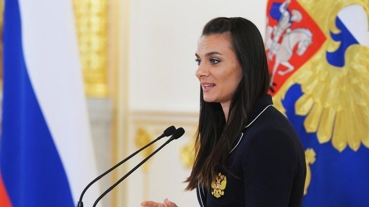 ايسينباييفا تواجه ثلاثة منافسين على رئاسة الاتحاد الروسي لألعاب القوى