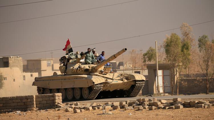 القوات العراقية تطرد
