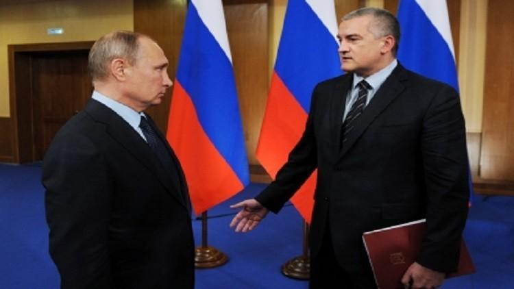 بوتين يوعز من جديد بمساعدة غينيتشيسك الاوكرانية بالغاز