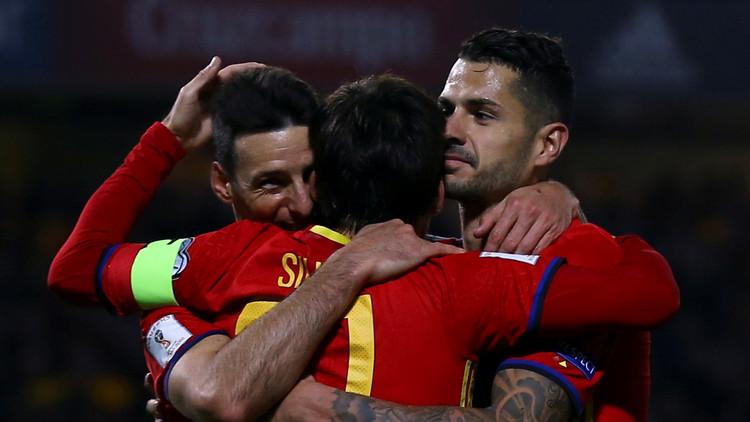 إسبانيا تقسو على مقدونيا.. وإيطاليا تتخطى ليشتنشتاين بسهولة