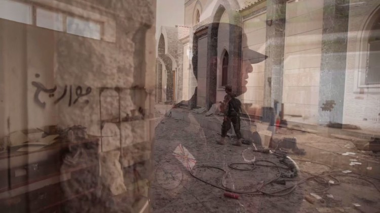 داعش يحول الكنيسة في بخديدا إلى مصنع للصواريخ