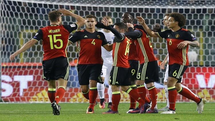 روسيا 2018.. بلجيكا تدك شباك إستونيا بثمانية أهداف