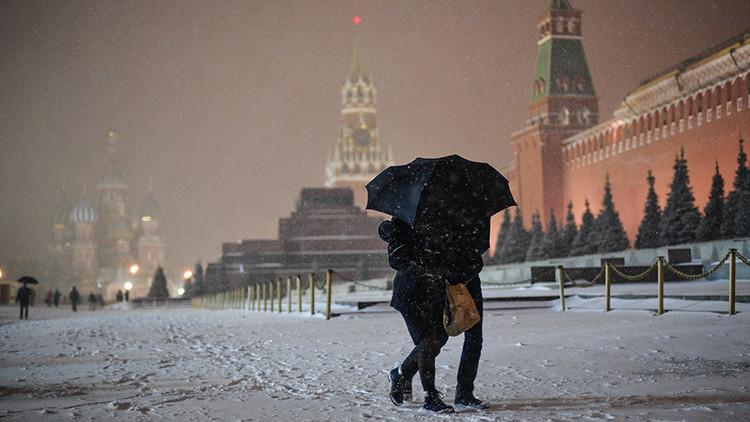 موسكو ترتدي الأبيض قبل أن يأتي الشتاء