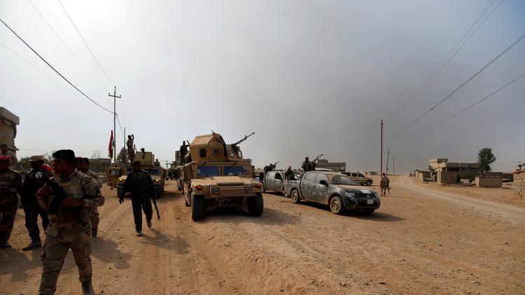 القوات العراقية تواصل تحريرها لقرى الموصل