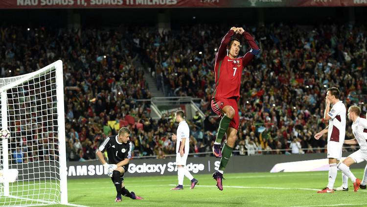 رونالدو يحرز هدفا رائعا