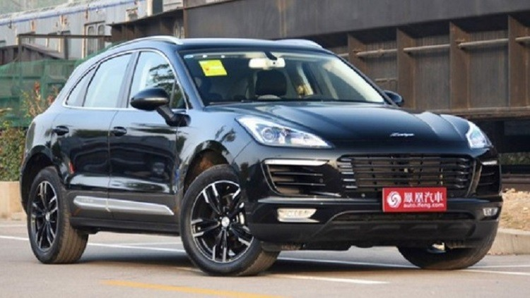 شركة صينية تطلق سيارة شبيهة ببورش Macan