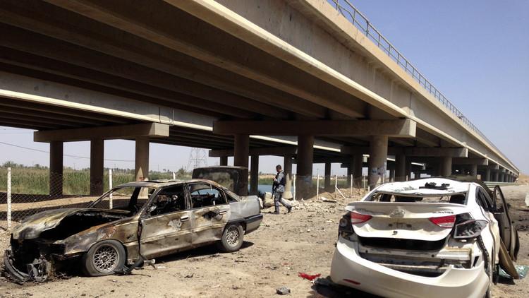 قتلى وجرحى بانفجار سيارتين في الفلوجة غرب بغداد