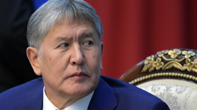 مخابرات قرغيزستان تبحث عن مهدد الرئيس بالقتل