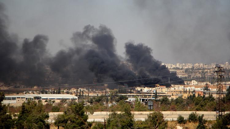 الجيش السوري يهاجم إرهابيي داعش والنصرة